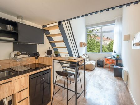 Great duplex apartment in a student residence in Palaiseau