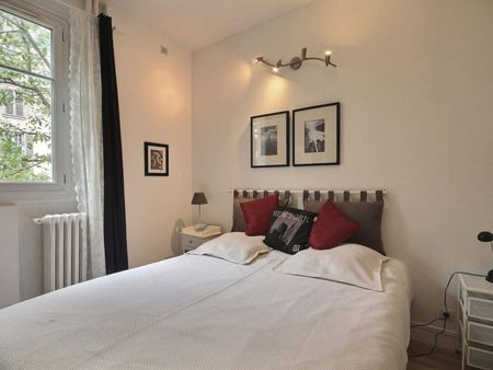 Nice 1-bedroom apartment in Paris, near Louis Blanc subway station