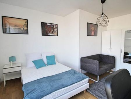Charming double bedroom in a student flat, in the Roquette neighbourhood
