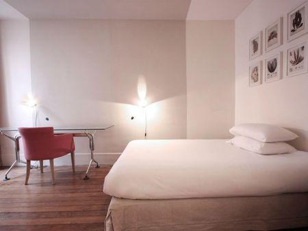 Rustic apartment in the Quartier Latin
