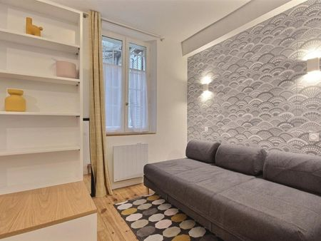 Charming studio apartment in Paris, near Square Marcel Bleustein Blanchet