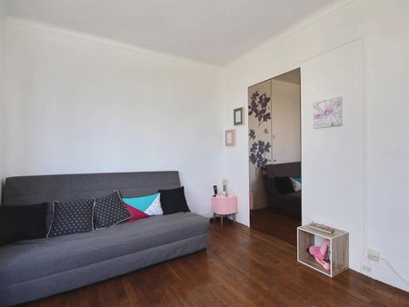 Studio apartment with an amazing view in Paris, near Parc Sainte-Périne