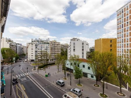Pleasant 1-bedroom apartment near the Cité Universitaire metro