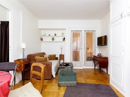 1 bedroom apartment, Paris 16 Porte Maillot