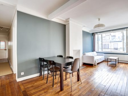 Elegant 1-bedroom apartment near the Guy Môquet metro