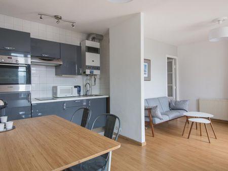 Bright 1-bedroom apartment near Sevres - Babylone metro station