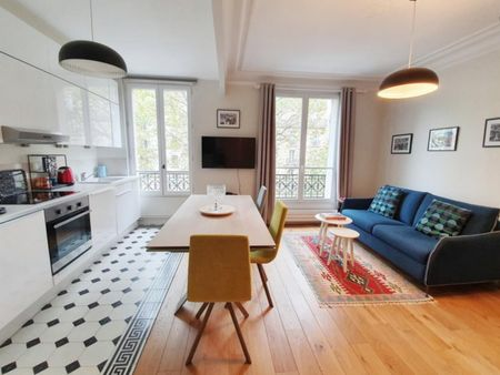 Colourful 1-bedroom flat in 12e-Nation-Bercy