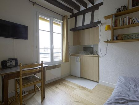 1 One room apartment in the renown 5 th arrondissement