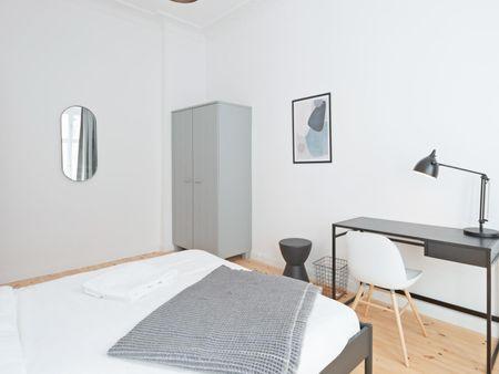 Cool double bedroom in Berlin city centre