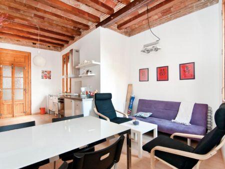 1-Bedroom apartment near Parc de la Ciutadella