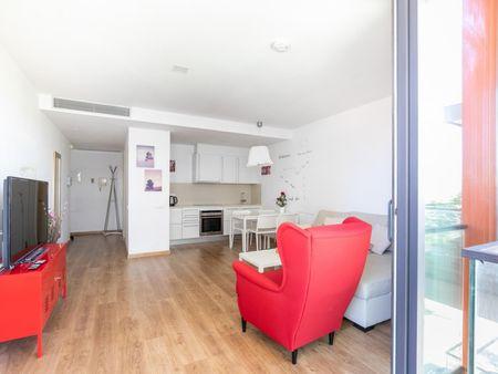 Cozy 1-bedroom apartment near Parc Central del Poblenou