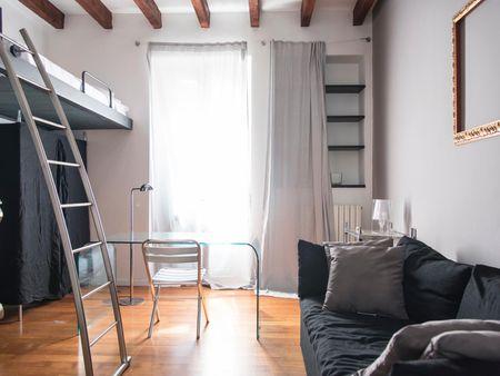 Cool 1-bedroom apartment near P.TA Genova FS metro station