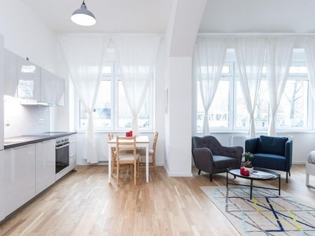 Renovated studio apartment in Kreuzberg