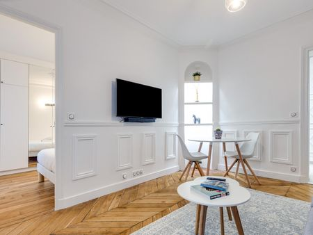 Cute 1-bedroom apartment near Anvers metro station