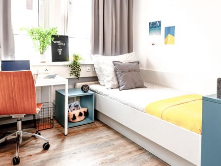 Comfortable single bedroom in Stuttgart
