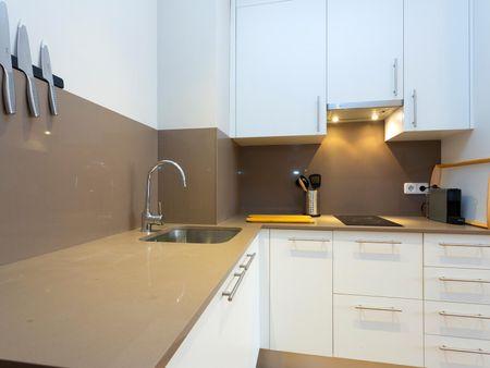 Lovely 1-bedroom apartment near Lesseps metro station