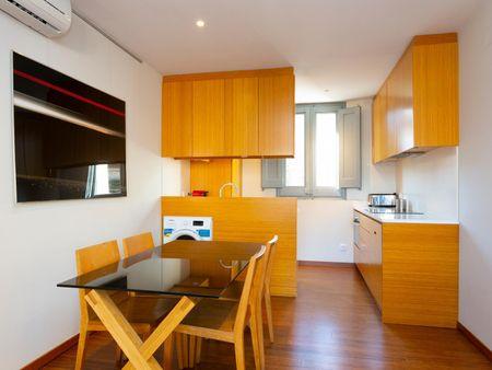 Cool 2-bedroom apartment near Les Tres Torres transport station