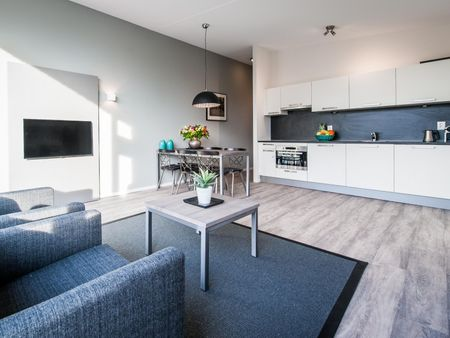 Comfortable 2-bedroom apartment, in a residence near Westerpark