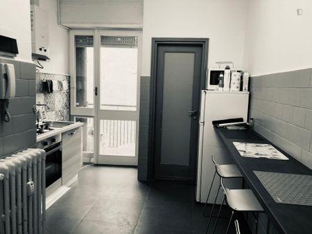 Double bedroom in apartment near Metro Piola