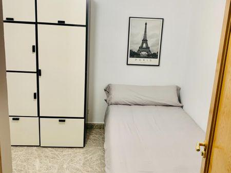 Single ensuite bedroom near Chueca metro station