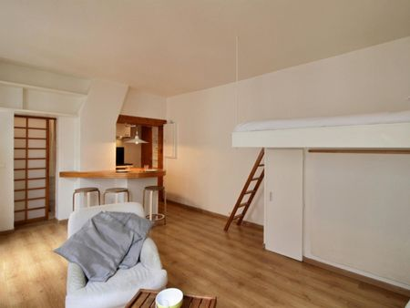 Comfy studio near Charonne metro station