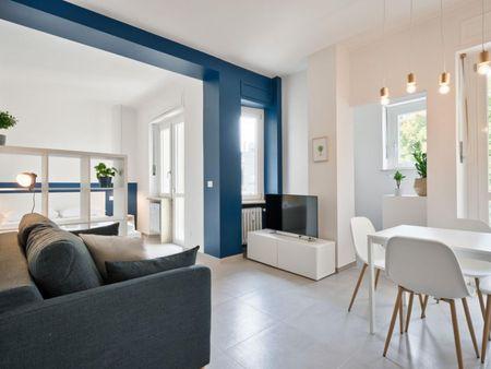 Modern 1-bedroom apartment near Carducci Molinette metro station