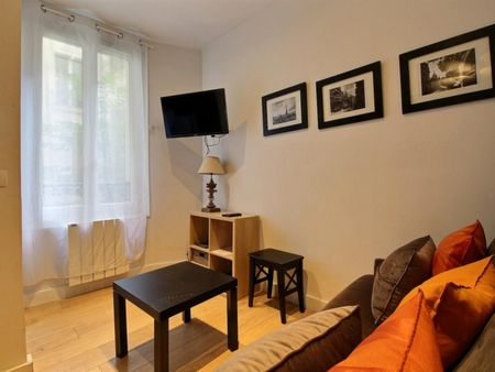 Charming studio near the banks of the Seine