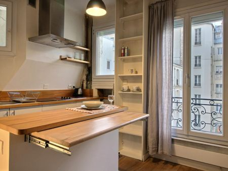 Comfy 1-bedroom apartment near Courcelles metro station