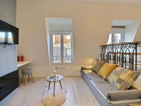 Elegant studio near Victor Hugo metro station