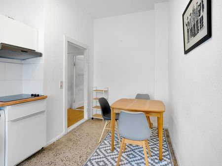 Alluring single bedroom in a 2-bedroom apartment, in a residence Schönhauser Allee transport station