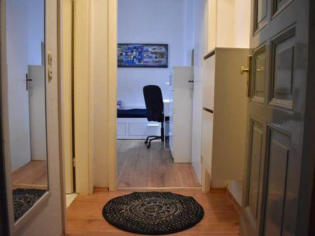 Wonderful 1-bedroom apartment with twin-bedroom in Berlin, Penzlauer Berg near Kulturbrauerei