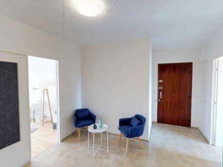 Splendid double bedroom near Parc Sergent Blandan