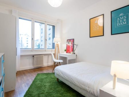 Beautiful double bedroom in Perrache - Charlemagne