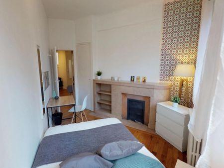 Student-friendly double bedroom in Voltaire Part-Dieu