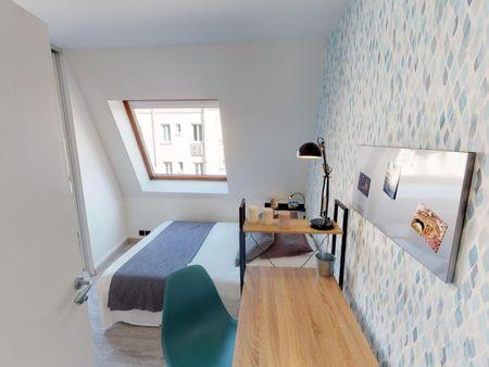 Neat double ensuite bedroom in Auteuil