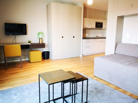 Fully-furnished studio apartment in Köpenick