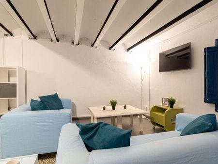 Sublime single bedroom in a student flat, near Universitat Pompeu Fabra