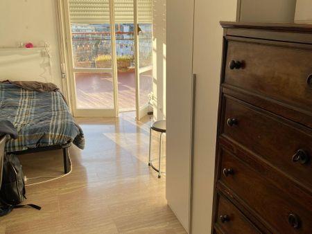 Cool single bedroom near Gemelli