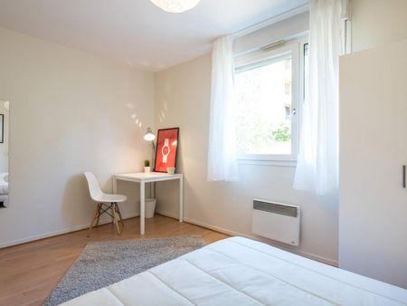 Pleasant double bedroom in Voltaire Part-Dieu
