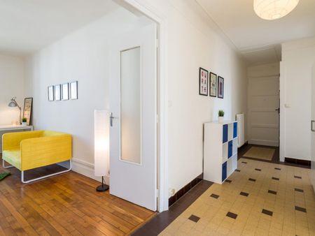 Sublime double bedroom in Perrache