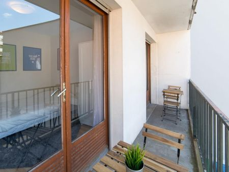 Sublime double bedroom in Compans