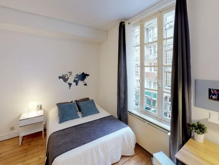 Wonderful double bedroom in the centre of Lille