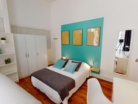Very nice double bedroom in Place Bellecour