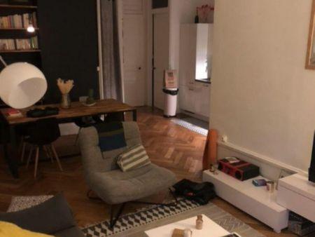Charming bedroom in a 2-bedroom apartment near Foch metro station