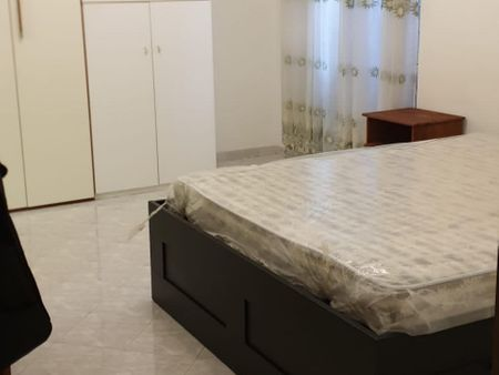 Double bedroom with a private bathroom, in Primavalle