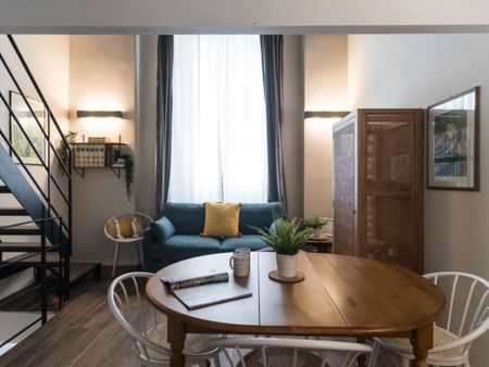 Very cool 1-bedroom flat in Casoretto