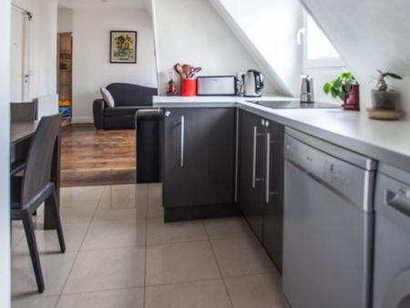 Luminous apartment in Grange aux Belles