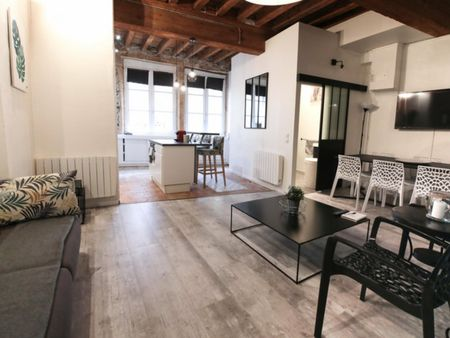 Cosy 3 beds apartment in the center of Lyon