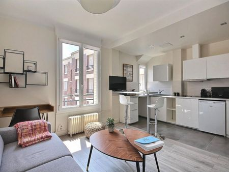 Charming studio apartment in Levallois Perret, near Louise Michel