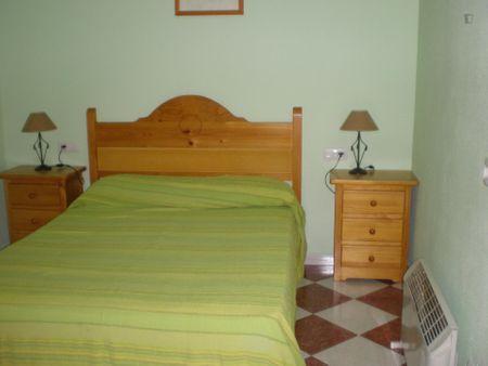 Friendly double bedroom in Trigueros